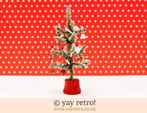 0: Vintage Christmas Tree Ornament 1960s (£20.00)