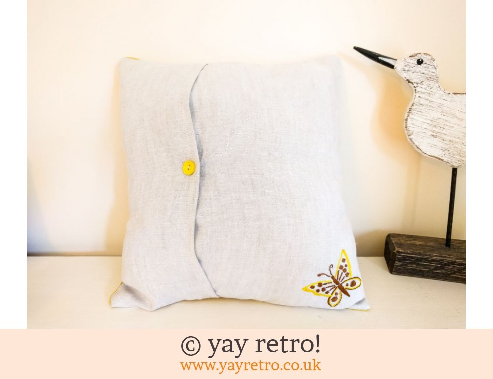 Yellow Scandi Scatter Cushion (£10.50)