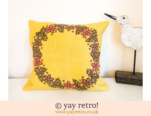 0: Yellow Scandi Scatter Cushion (£11.50)
