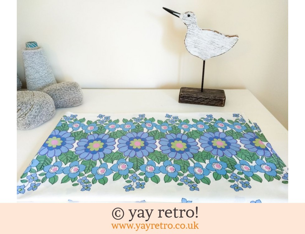 Flower Power Cotton Tablecloth Panel (£14.00)