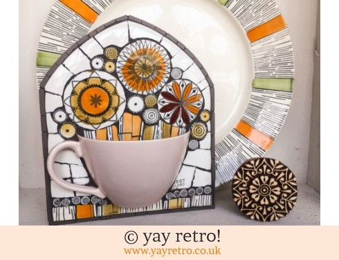 140: Flower Cup Mosaic (£38.00)