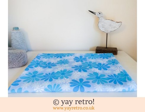 0: Blue Daisy Vintage Single Sheet (£17.50)