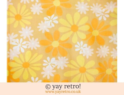 0: Yellow  Daisy Vintage Single Sheet (£17.50)