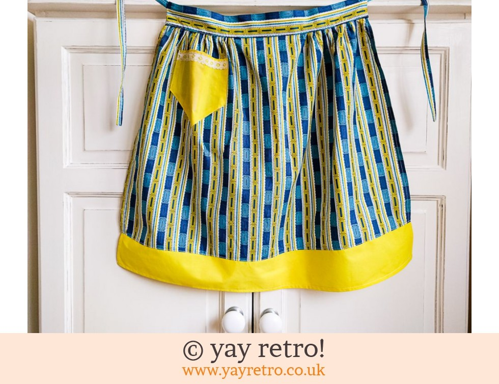 1950s Pinny Apron - Lovely Fabric! (£9.00)