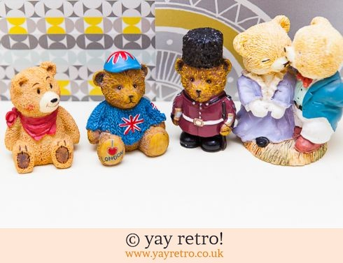 0: Collection 4 Cute Bears (£5.00)