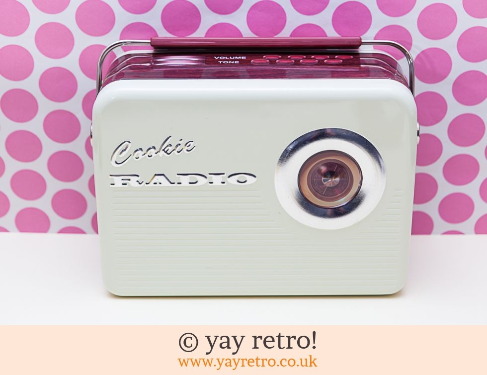 Retro Radio Tin (£14.00)