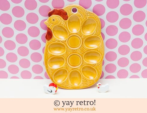 0: Vintage Chicken Shaped Egg Holder (£16.75)