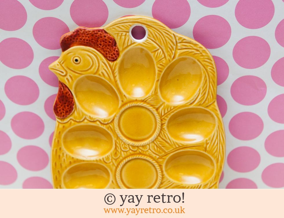 Vintage Chicken Shaped Egg Holder (£16.75)