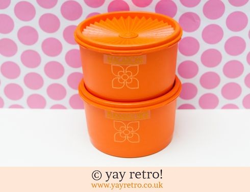 0: 2 Harvest Tupperware Containers (£16.00)