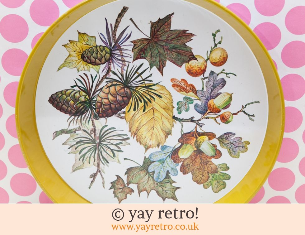 Vintage Autumn Tray (£8.95)
