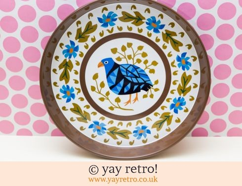 0: Blue Bird Worcester ware Tray RARE Unused in Box (£42.95)