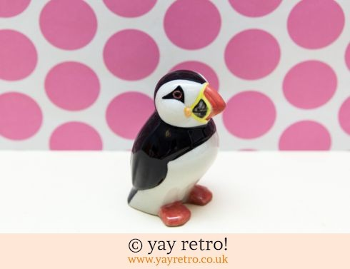 0: Vintage Puffin Ornament (£5.50)