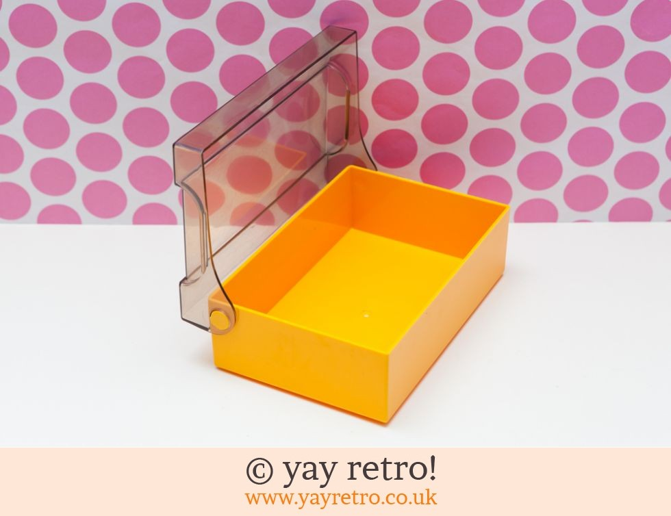 Bright Yellow Vintage Container (£3.00)