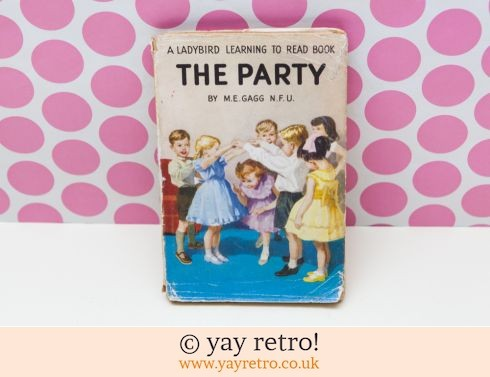 286: The Party Ladybird Book 1960 (£15.50)