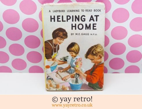 286: Helping at Home 1961 Ladybird Book (£9.50)