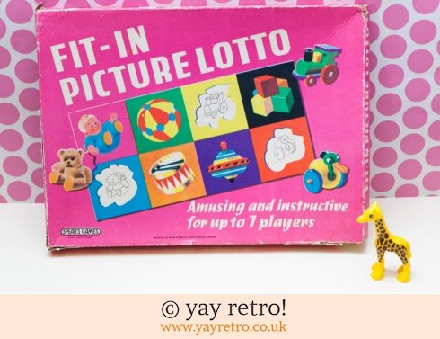 232: Fit in Picture Lotto 1960s (£9.95)