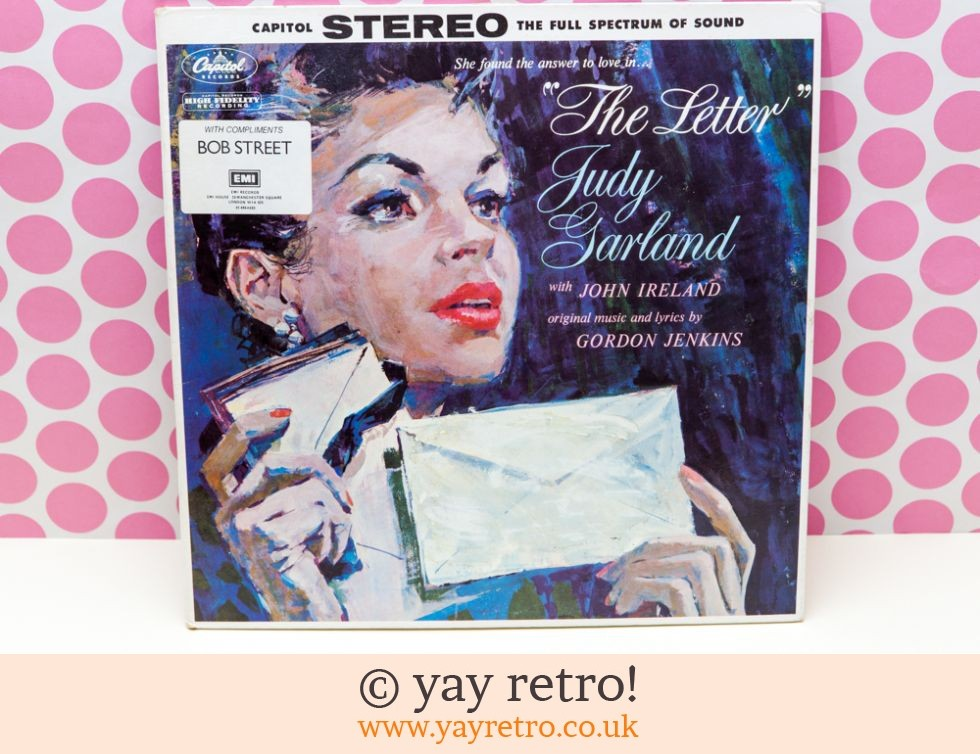 Judy Galrland 1959 The Letter LP (£7.50)
