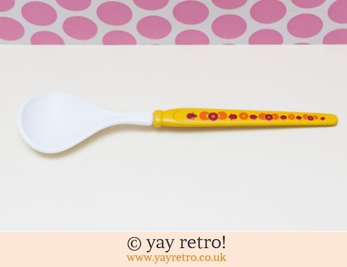 0: Vintage Emsa Serving Spoon Yellow (£5.00)
