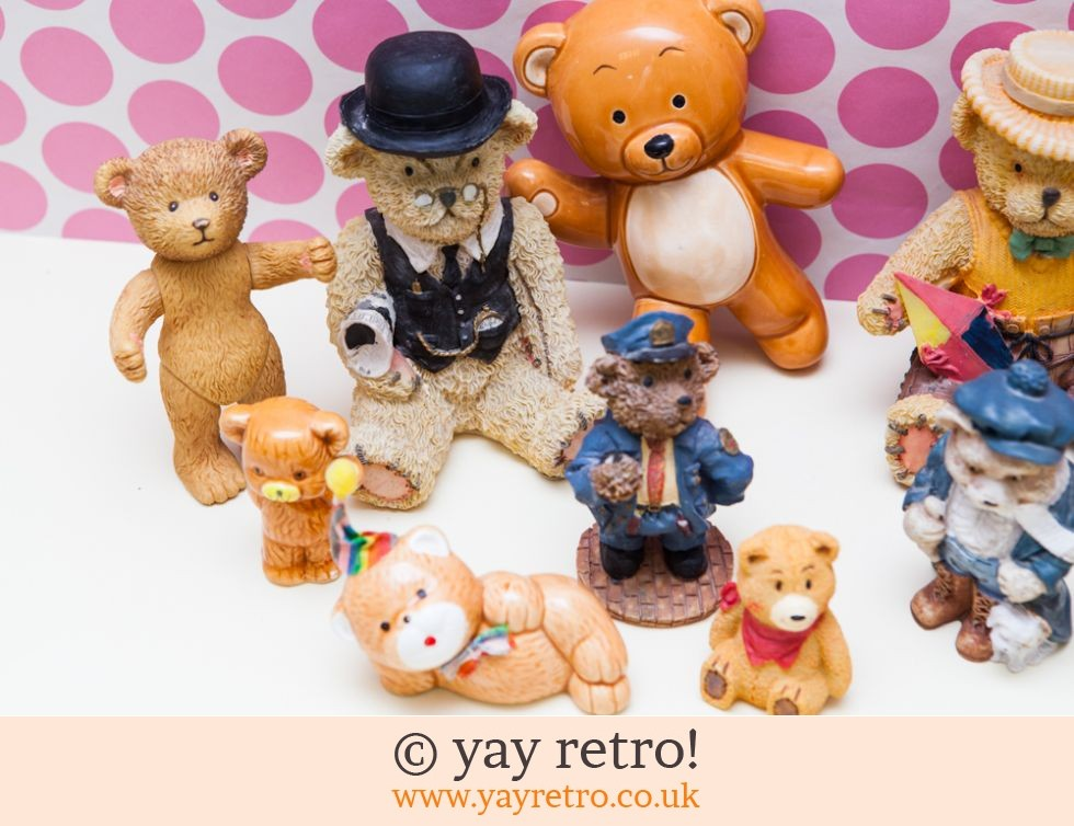 Job lot Vintage Bears x 14!! (£10.00)