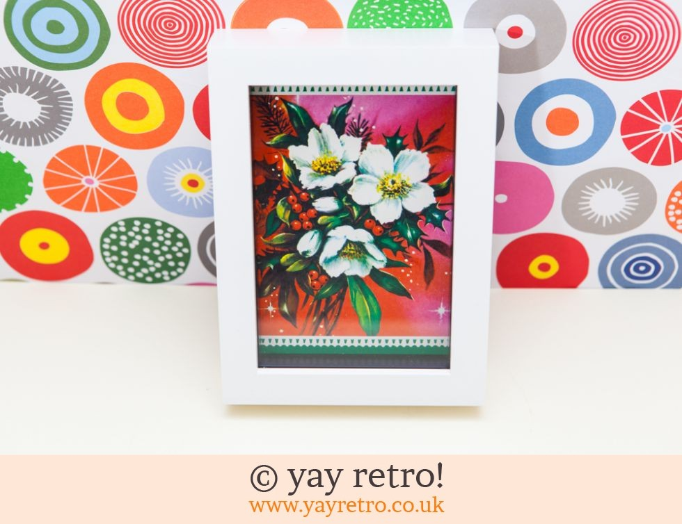 Vintage Christmas Rose Picture 6  x 4 (£6.00)