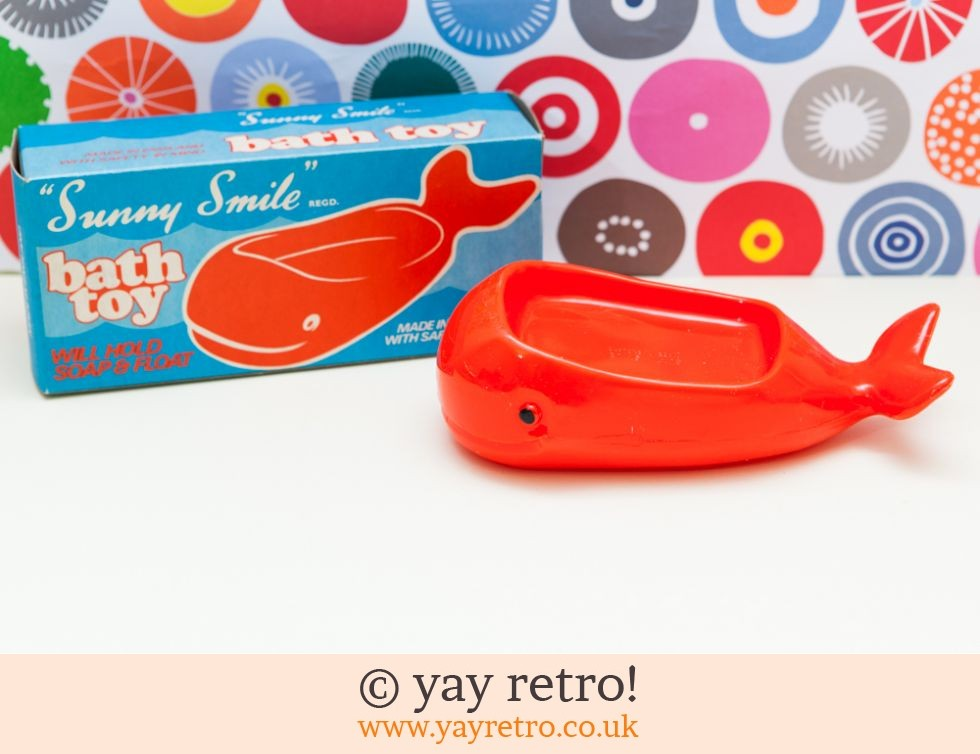 Sunny Smile: Whale Bath Toy Soap Dish 1950/60s (£8.00)