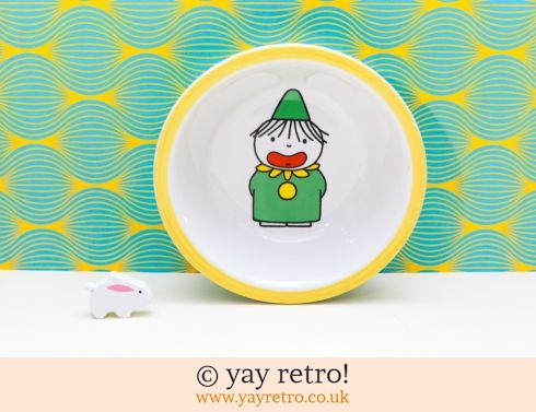 748: Dick Bruna Clown Dish 1974 (£12.50)