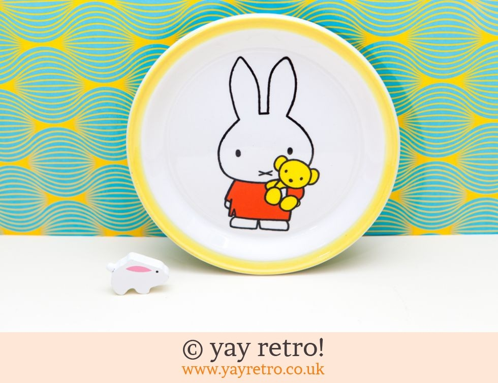 Dick Bruna Miffy Tea Plate 1971 (£12.50)
