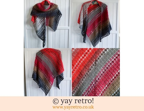 Pre-order a Crochet Shawl from yay retro (£32.50)