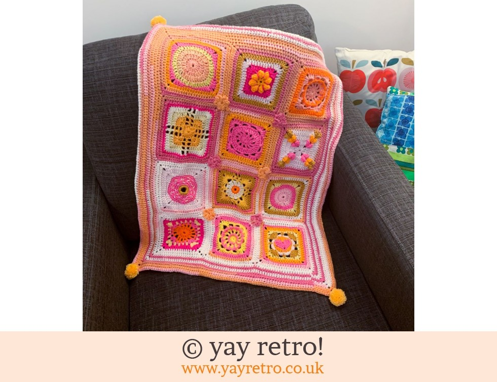 OTT Crochet Throw / Blankie (£32.00)
