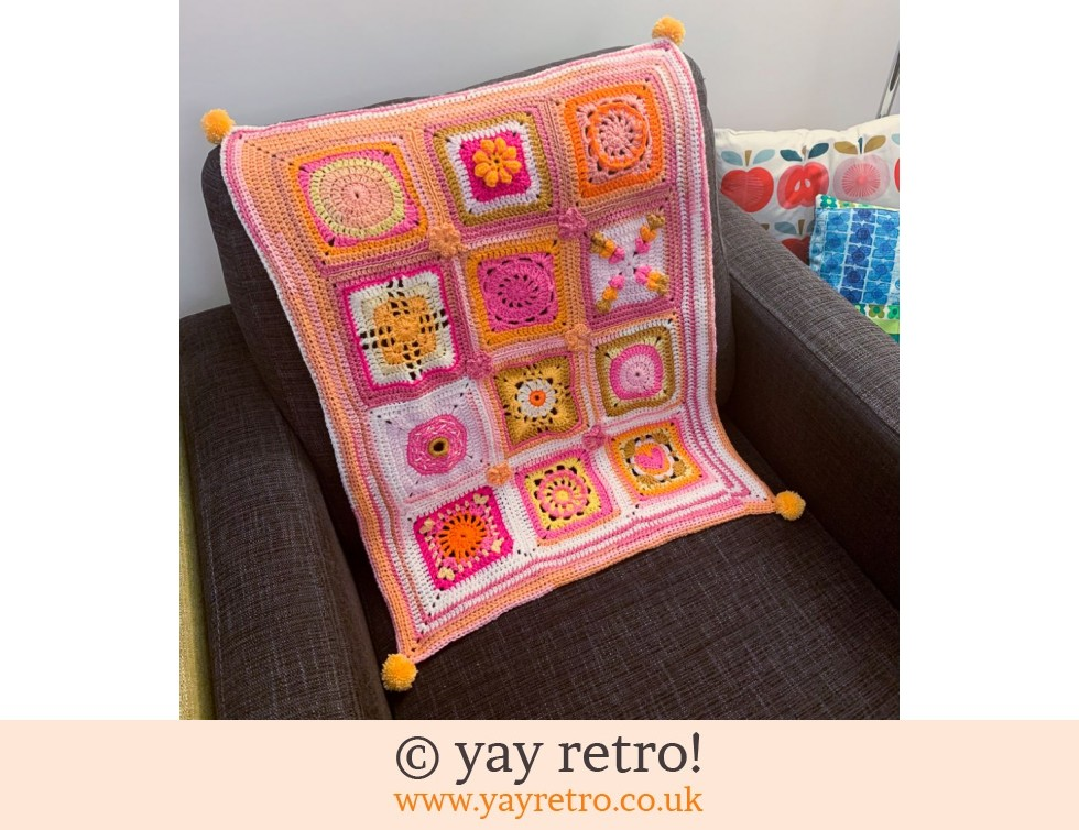 yay retro!: OTT Crochet Throw / Blankie (£32.00)