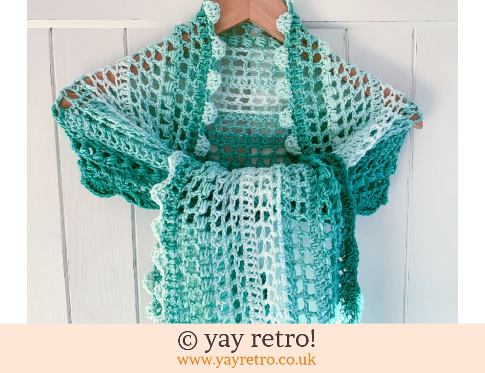 All the Greens Petits Filous Crochet Stole/Shawl (£22.50)