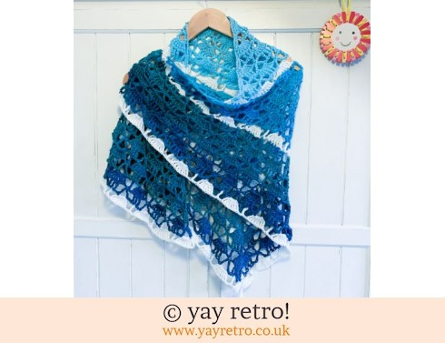 'Waves' Crochet Shawl (£32.50)