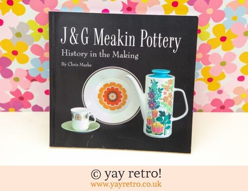 849: J&G Meakin Pottery Book (£16.50)