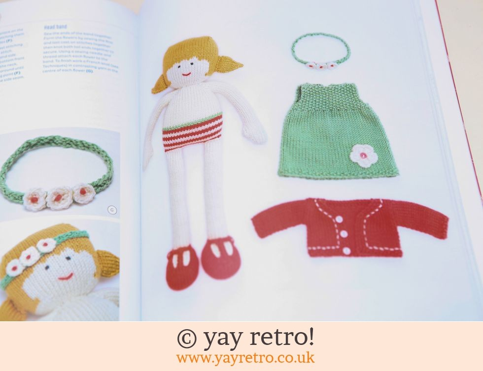 My Knitted Doll Book (£10.00)