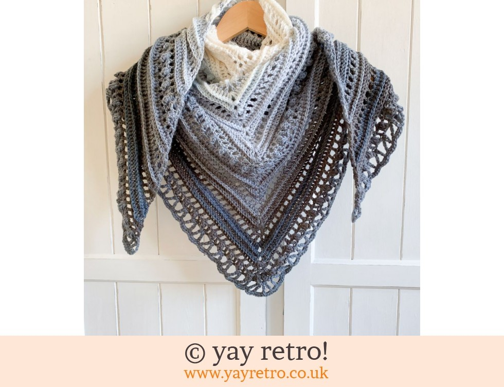 'Serenity III' Secret Paths Crochet Shawl (£32.50)