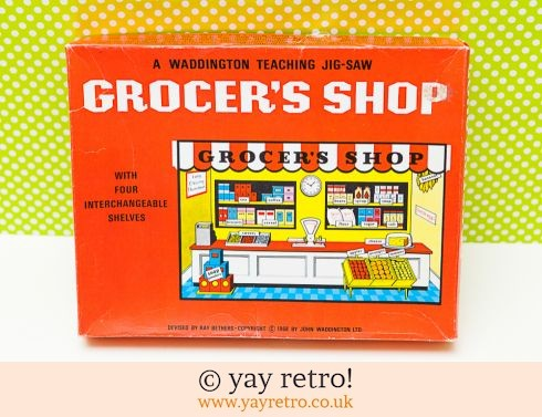 583: 1968 Grocers Shop Jigsaw (£7.00)
