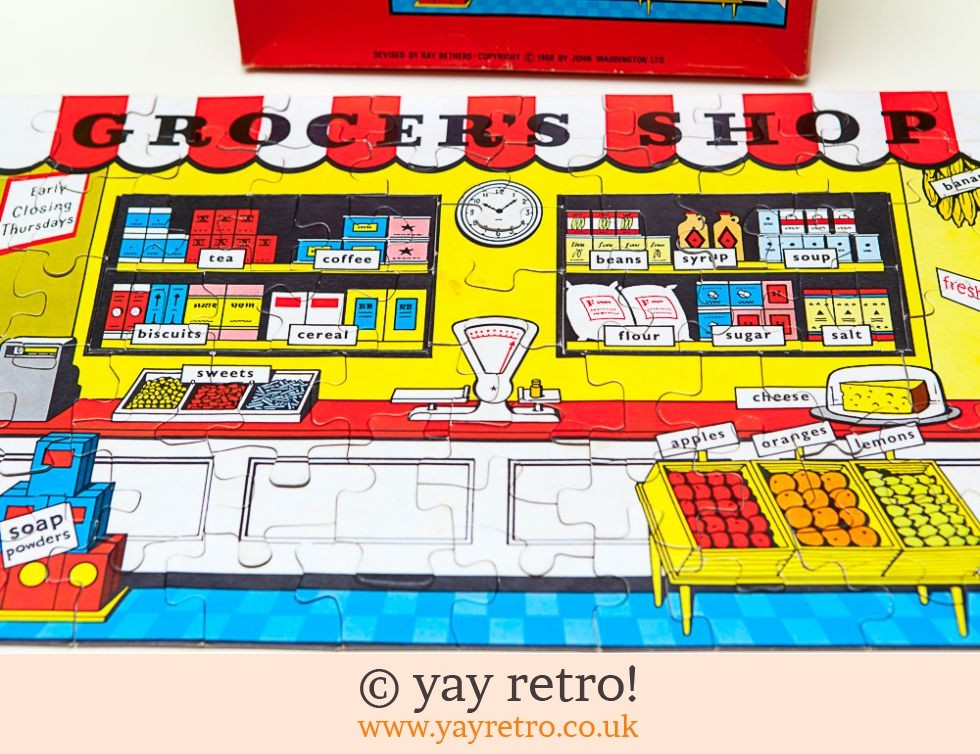1968 Grocers Shop Jigsaw (£7.00)