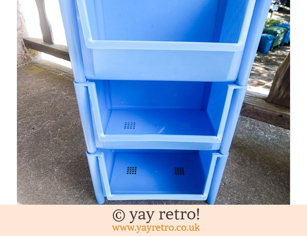 Sky Blue Vintage Vegetable Rack (£36.00)