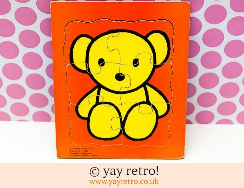 201: Dick Bruna Teddy Jigsaw 1967 (£12.95)