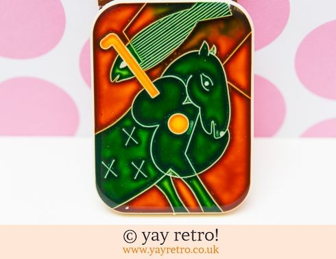 734: Vintage Marc Chagall design Buckle (£7.50)