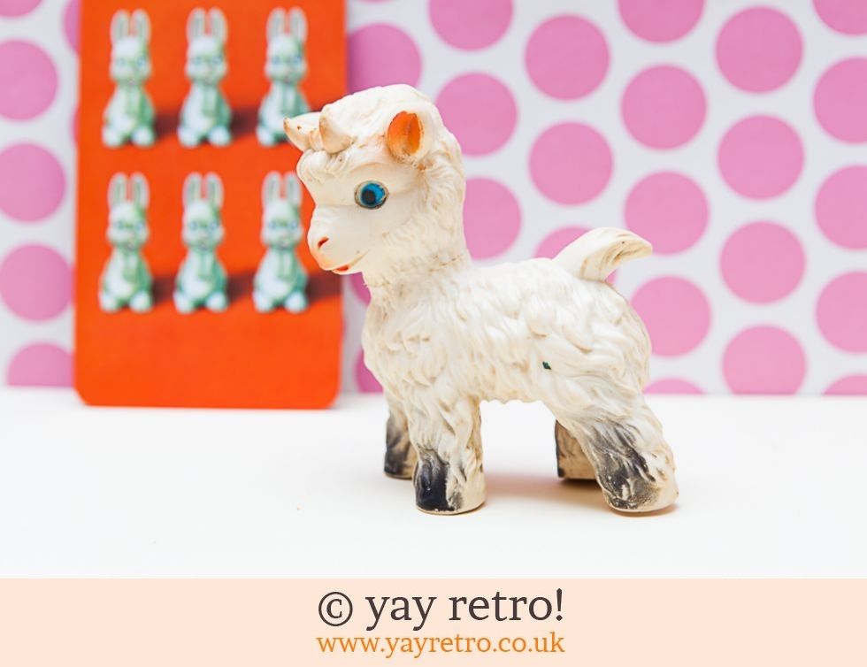 Vintage 1950/60s Squeaky Toy Goat (£4.75)