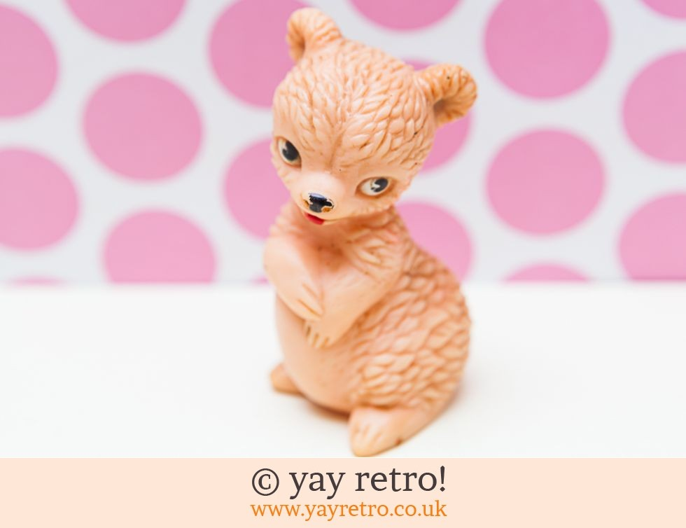 Combex: Vintage 1950/60s Squeaky Toy Bear (£4.75)