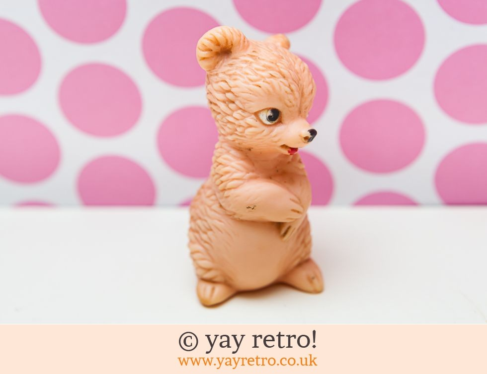 Vintage 1950/60s Squeaky Toy Bear (£4.75)