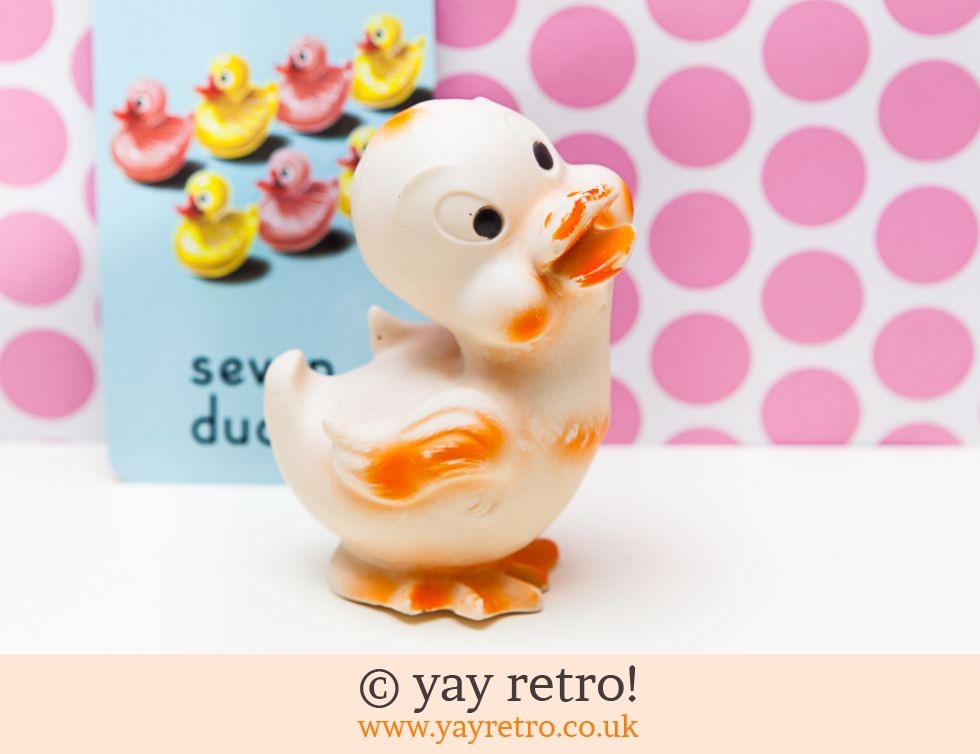 Vintage 1950/60s Squeaky Toy Duck (£4.75)