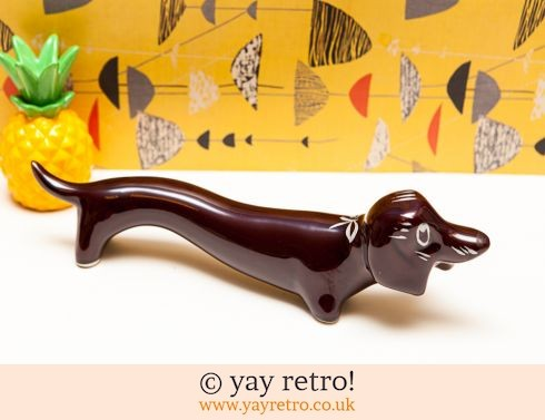 0: XL Long Kitsch Vintage Dachshund (£20.00)