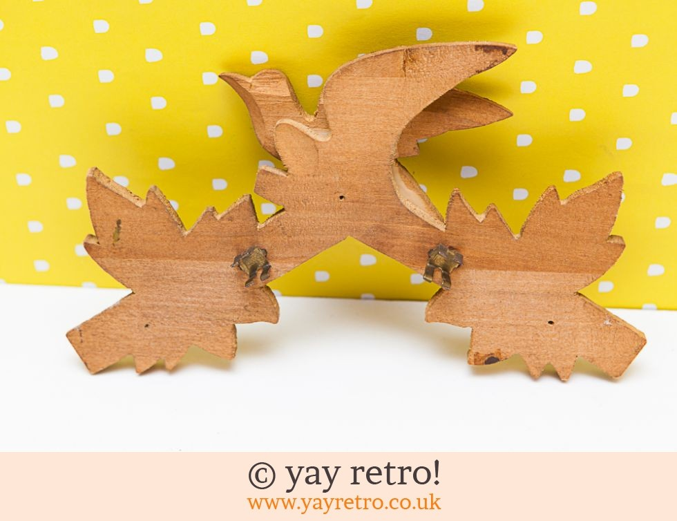 Wooden Bird & Leaves (£4.00)