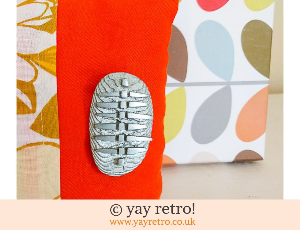 Funky Norwegian Brooch on Cushion (£9.50)