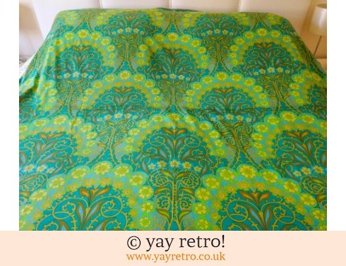 0: Psychedelic 1960/70s Bed Throw (£29.00)