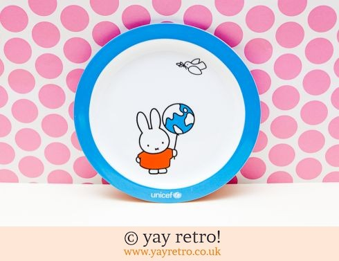 742: Miffy China Plate - World Peace (£20.00)