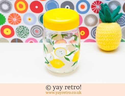0: Le Parfait Lemon Storage Jar (£9.95)